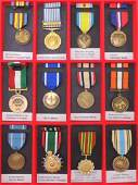 Group of 12 Foreign Service Medals