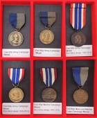 Group of 6 Civil War Campaign Medals