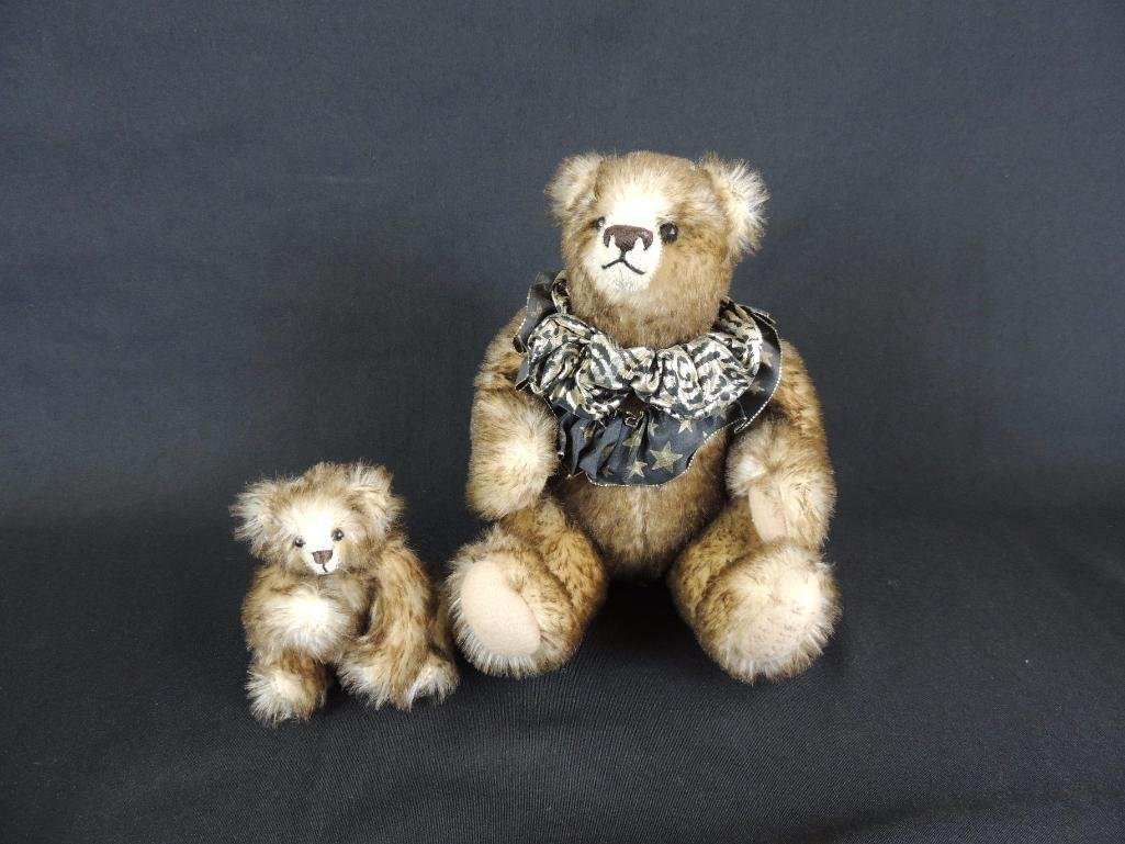 Group of 2 Vintage Reinhard Schulte Teddy Bears