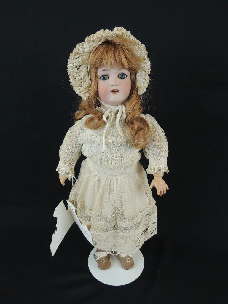 """Antique Simon Halbig 21"""" Bisque Character Doll"""