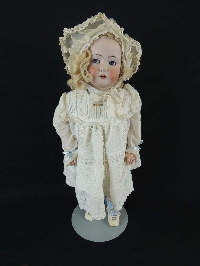"Antique Simon Halbig 24"" Bisque Character Doll"