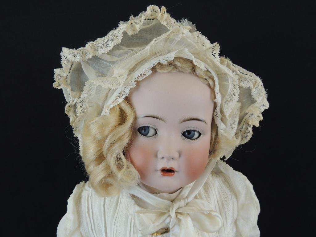 "Antique Simon Halbig 24"" Bisque Character Doll - 2"