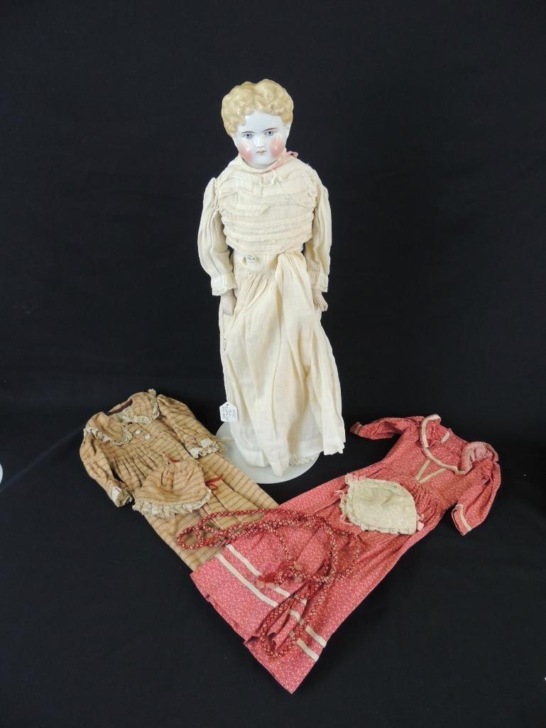 Antique Kestner 1870 Porcelain Doll with Original Box
