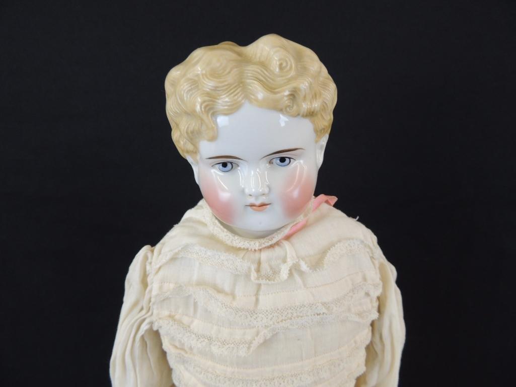 Antique Kestner 1870 Porcelain Doll with Original Box - 2