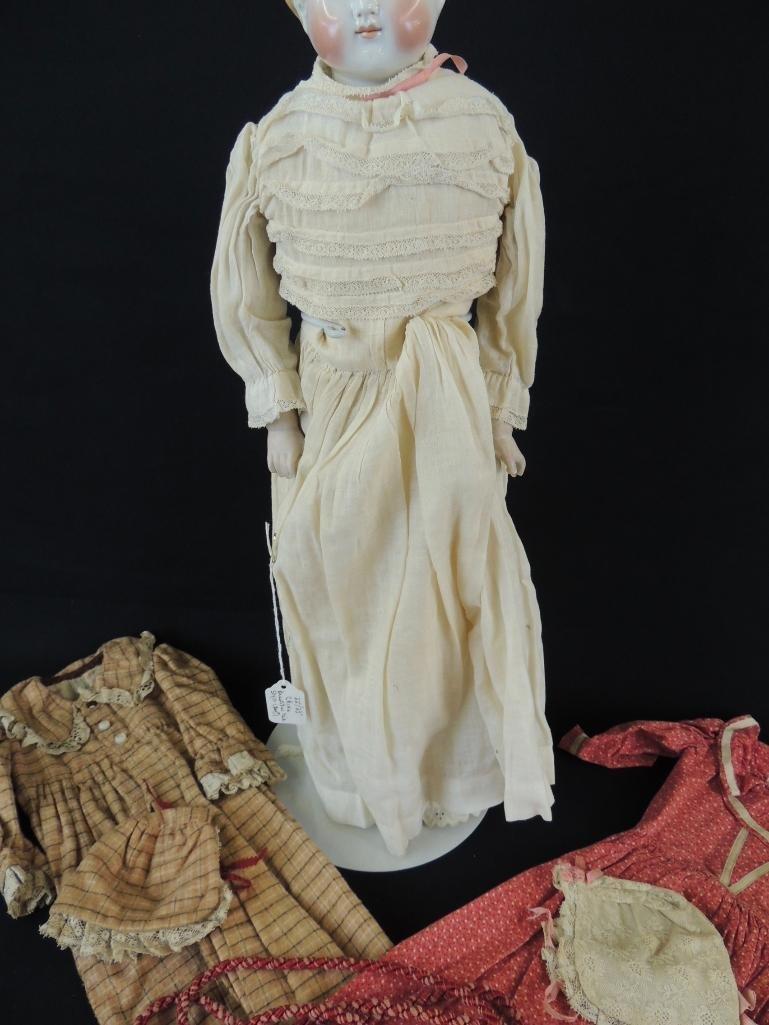 Antique Kestner 1870 Porcelain Doll with Original Box - 3