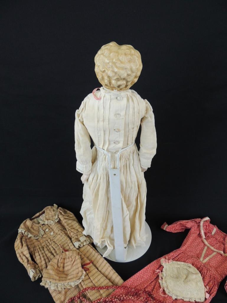 Antique Kestner 1870 Porcelain Doll with Original Box - 4