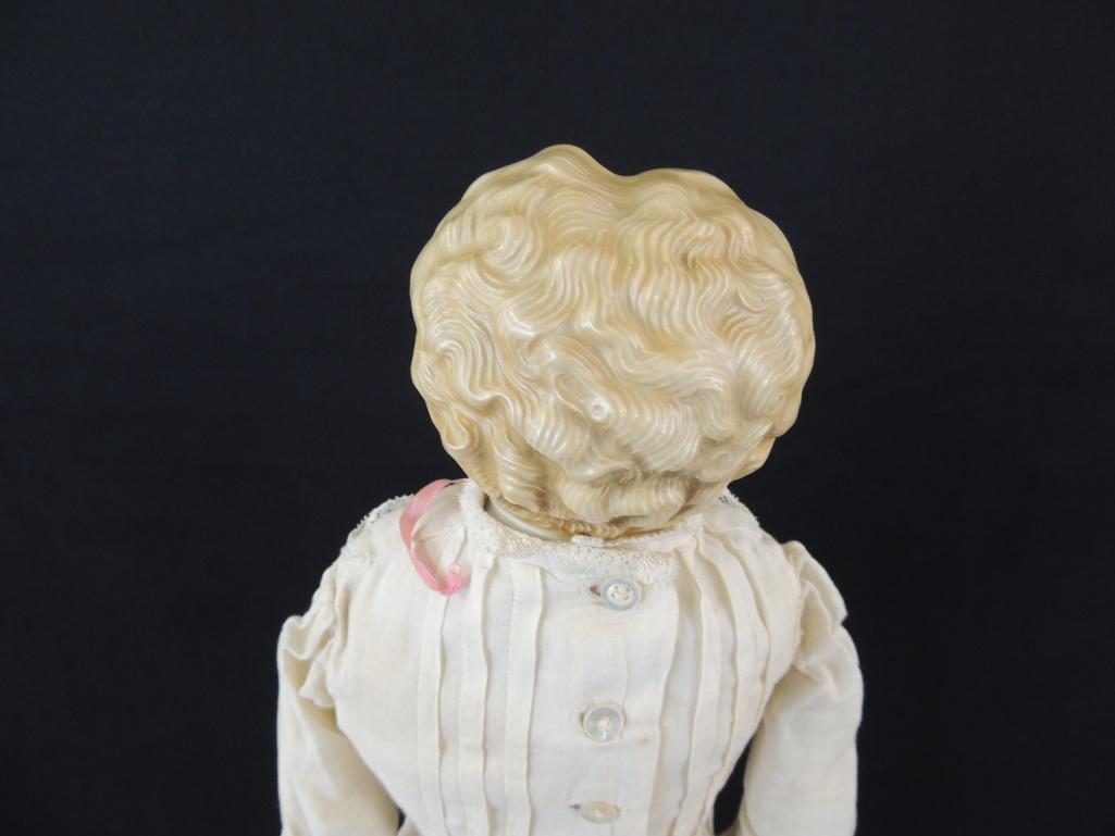 Antique Kestner 1870 Porcelain Doll with Original Box - 5