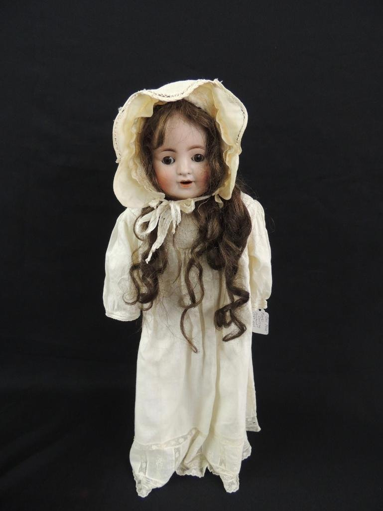 """Antique German Made """"Doll Face"""" Darling Bisque Doll"""
