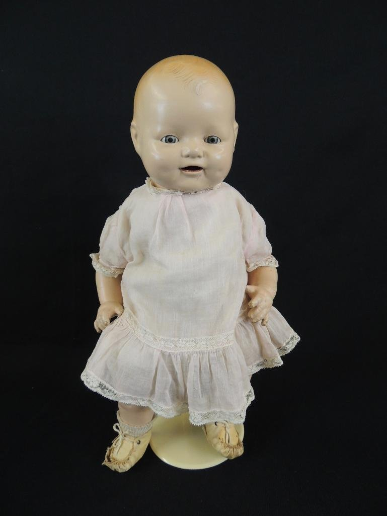 Antique 1924 Bubbles Composition Doll Marked E.I.H. Co