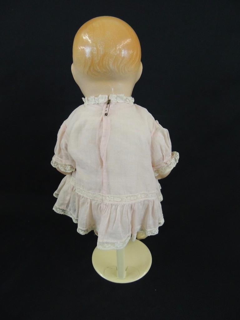 Antique 1924 Bubbles Composition Doll Marked E.I.H. Co - 3