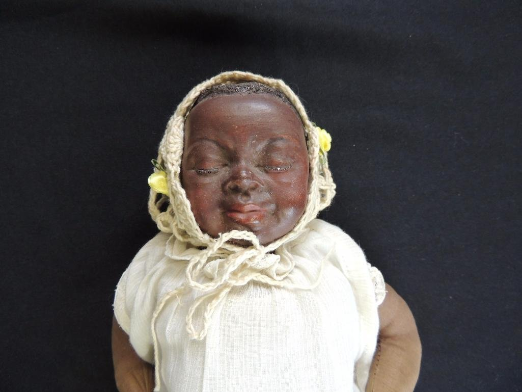 Vintage 1960 Black Americana Baby Doll Made by Maggie - 2