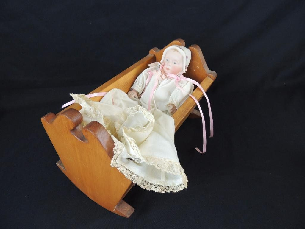 """Vintage """"Stuart Baby"""" by Bonnie Dunham 1979 Bisque Doll"""