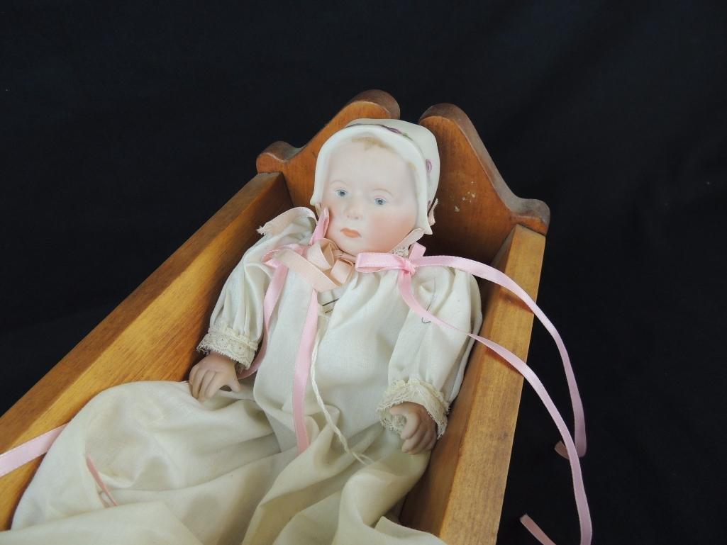 """Vintage """"Stuart Baby"""" by Bonnie Dunham 1979 Bisque Doll - 2"""