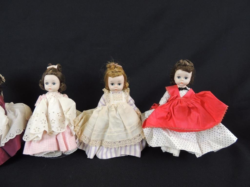 Group of 6 Vintage Madame Alexander Little Women - 2