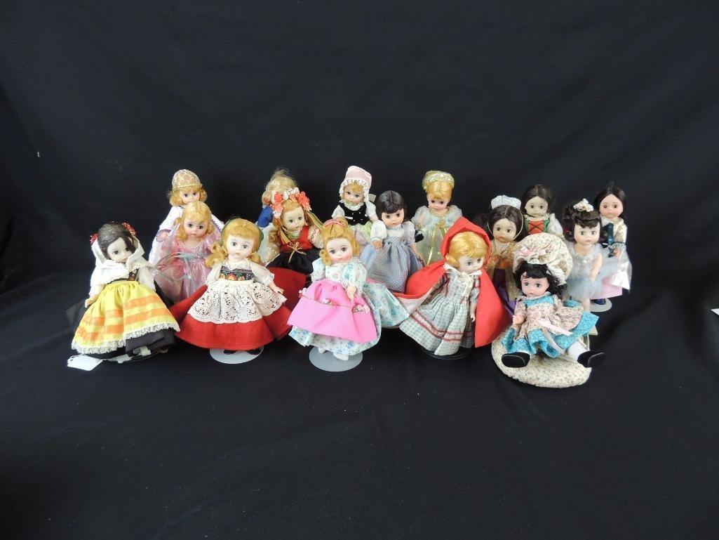 Group of 16 Vintage Madame Alexander Fairy Tale Dolls