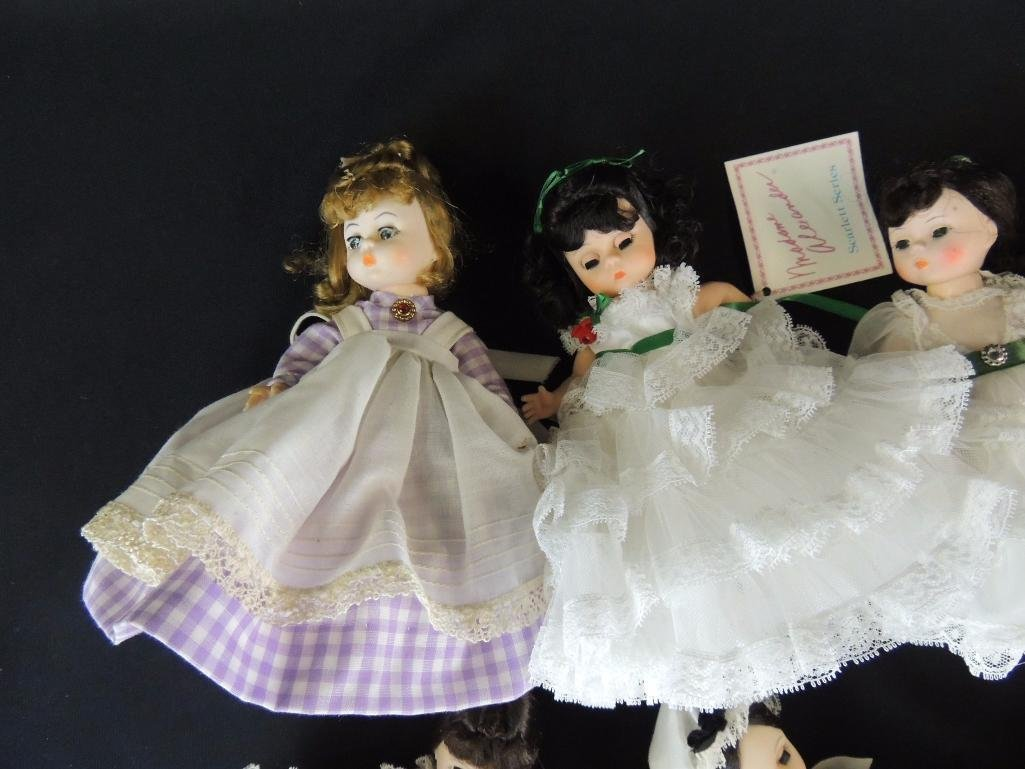 Group of 7 Madame Alexander Dolls - 2