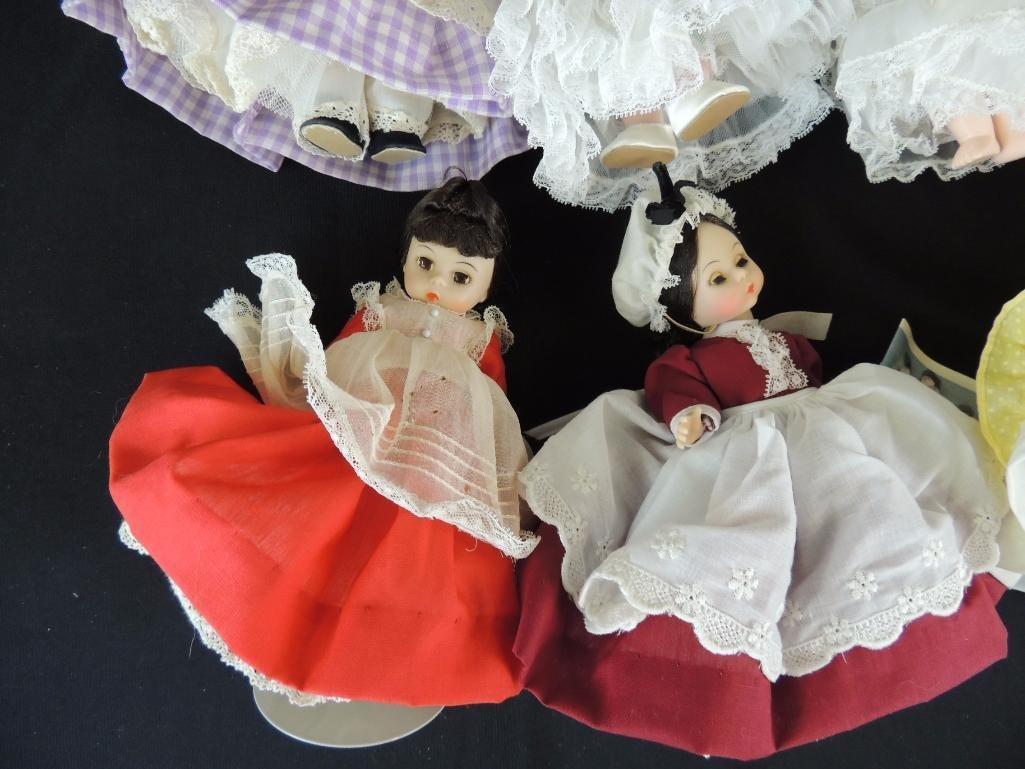 Group of 7 Madame Alexander Dolls - 3