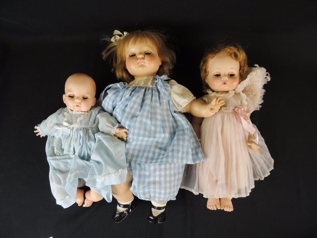 Group of 3 Madame Alexander Dolls Featuring Victoria,