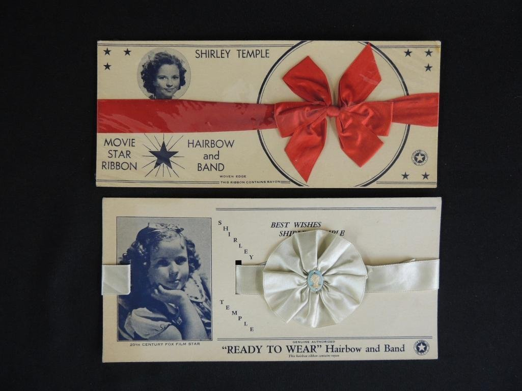 """Antique Shirley Temple Movie Star Ribbons """"Ready to"""