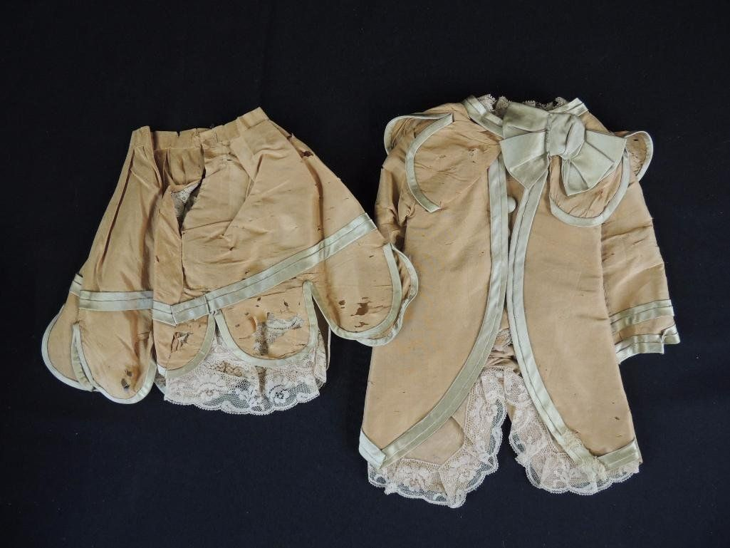 Depose Jumeau 6 Marked Antique Doll Dress