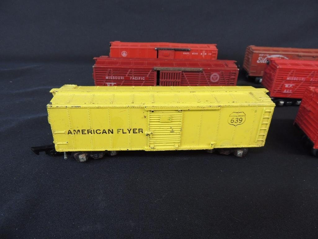 Group of 6 Vintage American Flyer Box Cars Featuring - 3