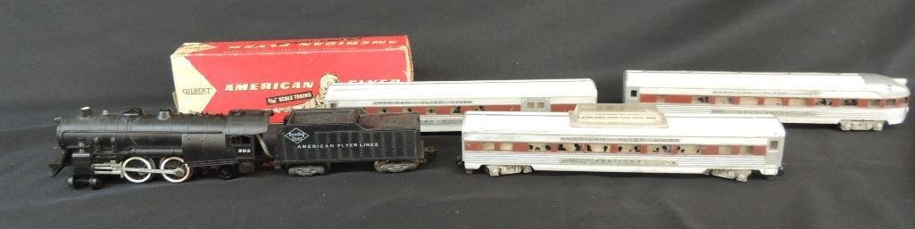 Vintage Group of 5 American Flyer Locomotive and
