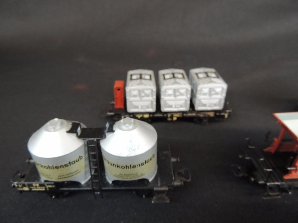 Group of 8 Vintage Marklin Train Cars Featuring - 2