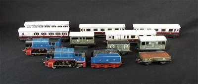 Vintage Group of 12 British Trix Caledonia Railway