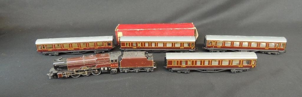 Vintage British Trix #6201 Princess Locomotive, Tender,
