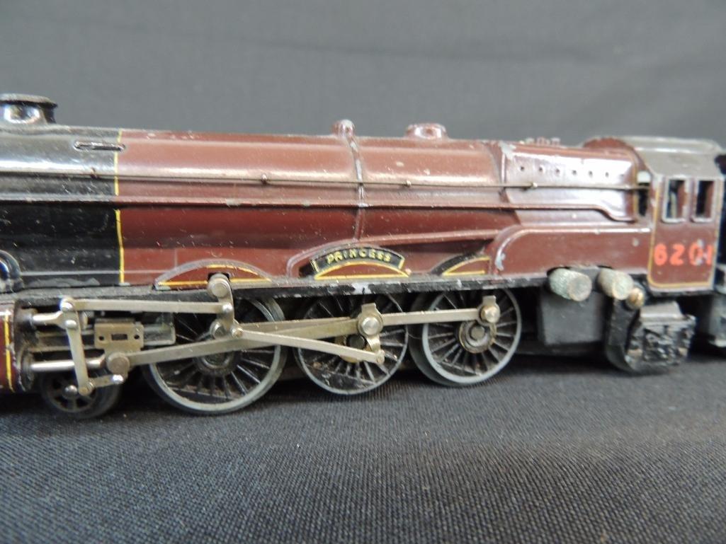 Vintage British Trix #6201 Princess Locomotive, Tender, - 3