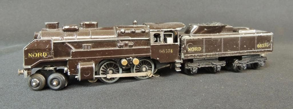 Rare French Trix 4-4-0 Nord #68374 Locomotive and