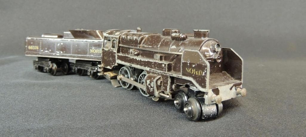 Rare French Trix 4-4-0 Nord #68374 Locomotive and - 2