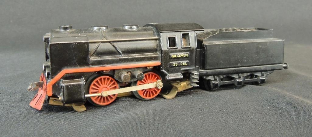 Pre War German Trix Express 0-4-0 Locomotive with Cow