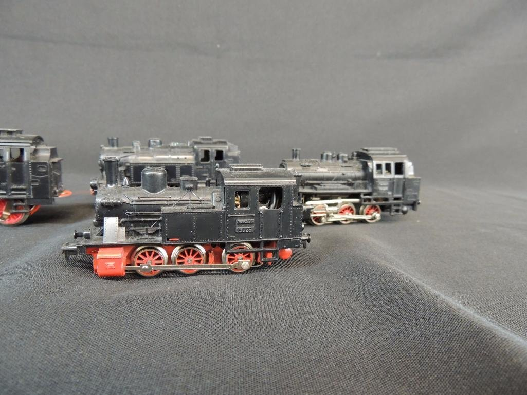 Group of 4 German Marklin 0-6-07 Locomotives - 3