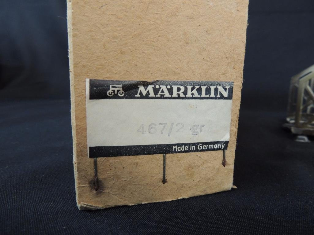 Group of 7 Vintage German Marklin Arched and Straight - 5