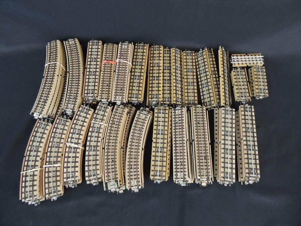 Large Group of Vintage German Marklin 3-Rail Wide R.R.