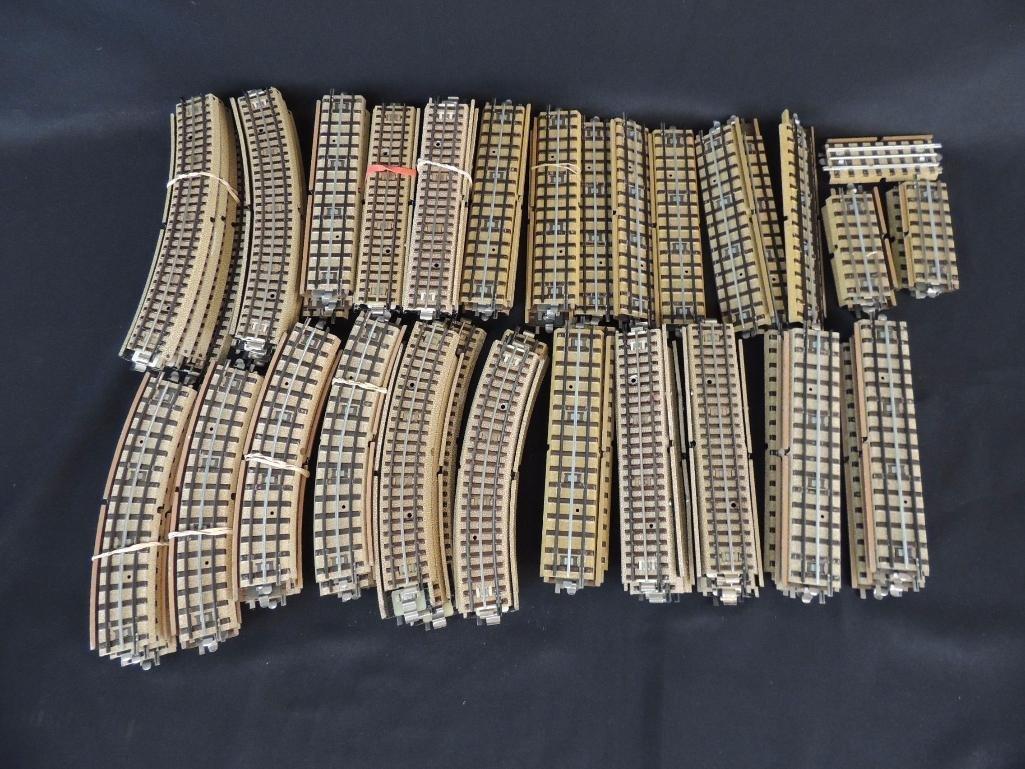 Large Group of Vintage German Marklin 3-Rail Wide R.R. - 2