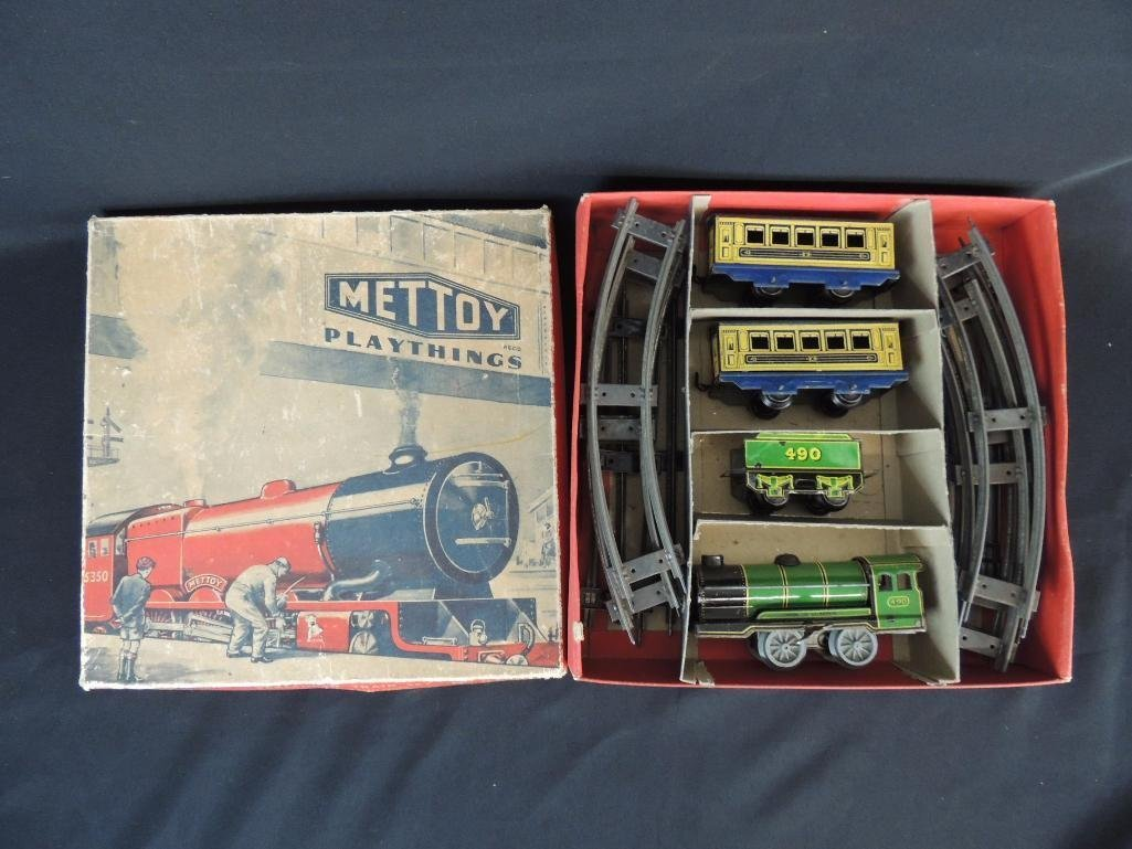 Vintage Hornby Meccano Great Britain Wind-Up Passenger
