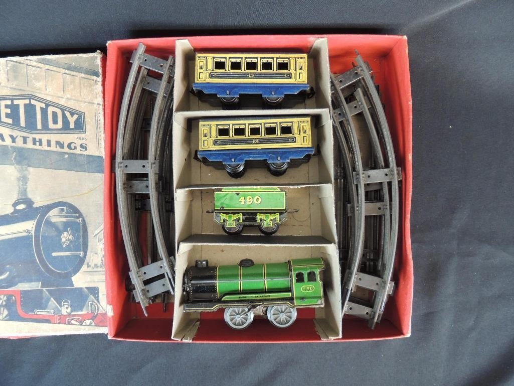 Vintage Hornby Meccano Great Britain Wind-Up Passenger - 2