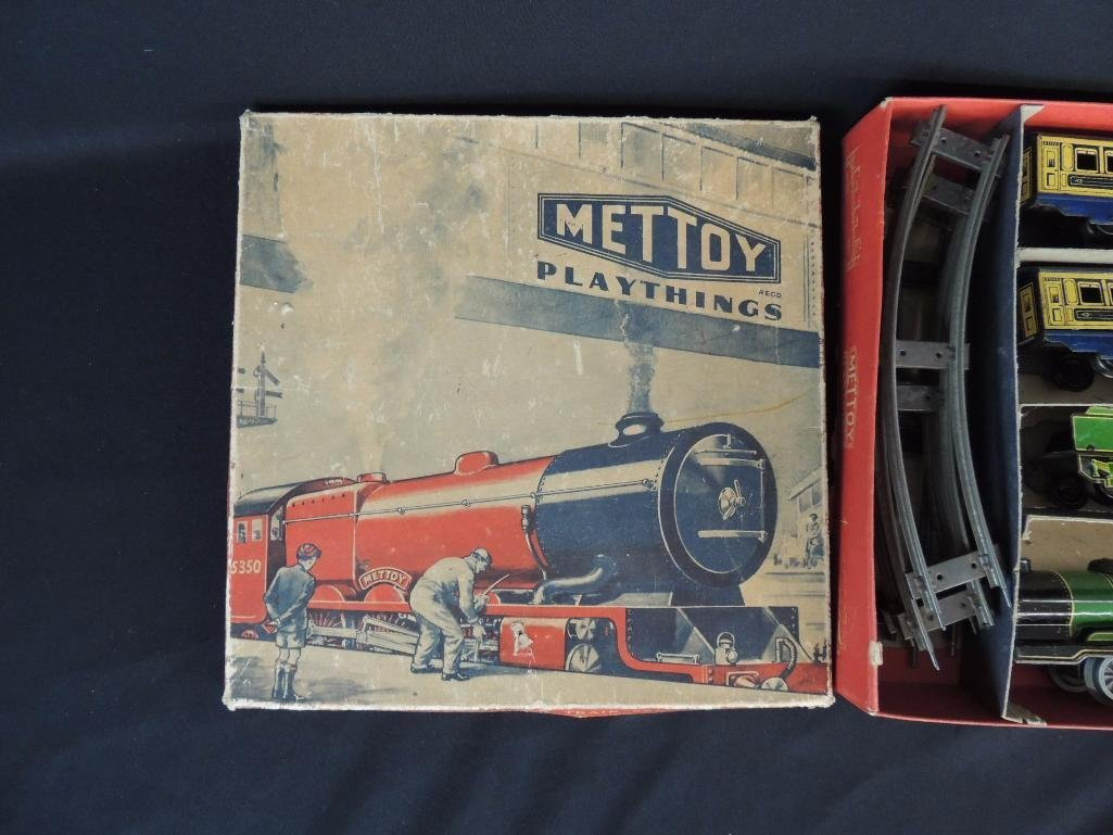 Vintage Hornby Meccano Great Britain Wind-Up Passenger - 3