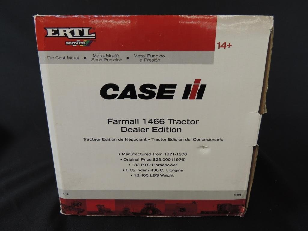 ERTL Case International Farmall 1466 Dealer Edition - 2