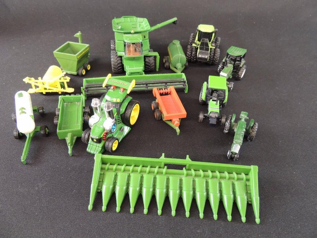 Group of 13 John Deere Tractors, Combines, and More - 2