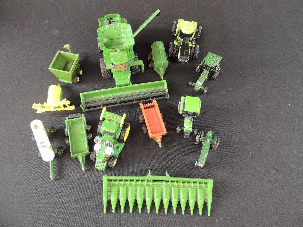 Group of 13 John Deere Tractors, Combines, and More - 3