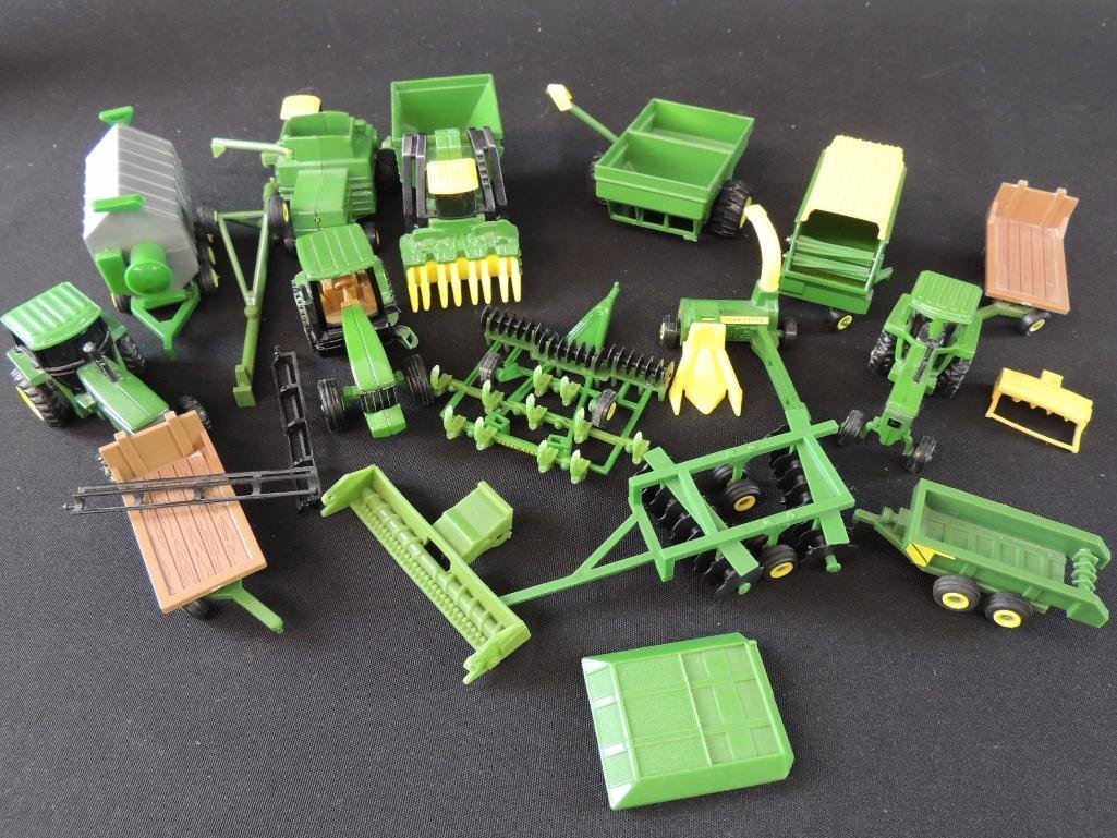 Group of 16 John Deere Tractors, Wagons, and More - 2