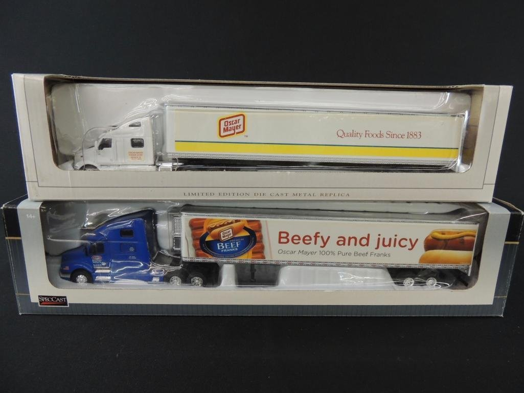 Group of 2 Spec-Cast Limited Edition Die-Cast Semi's