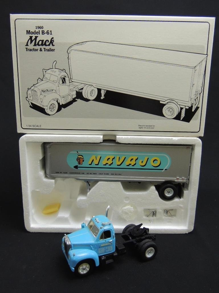 First Gear 1960 Model B-61 Mack Navajo Tractor &
