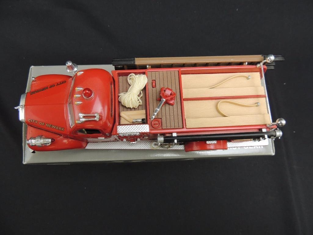 First Gear N.F.D. 1960 Mack B-Model Pumper Fire Truck - 2