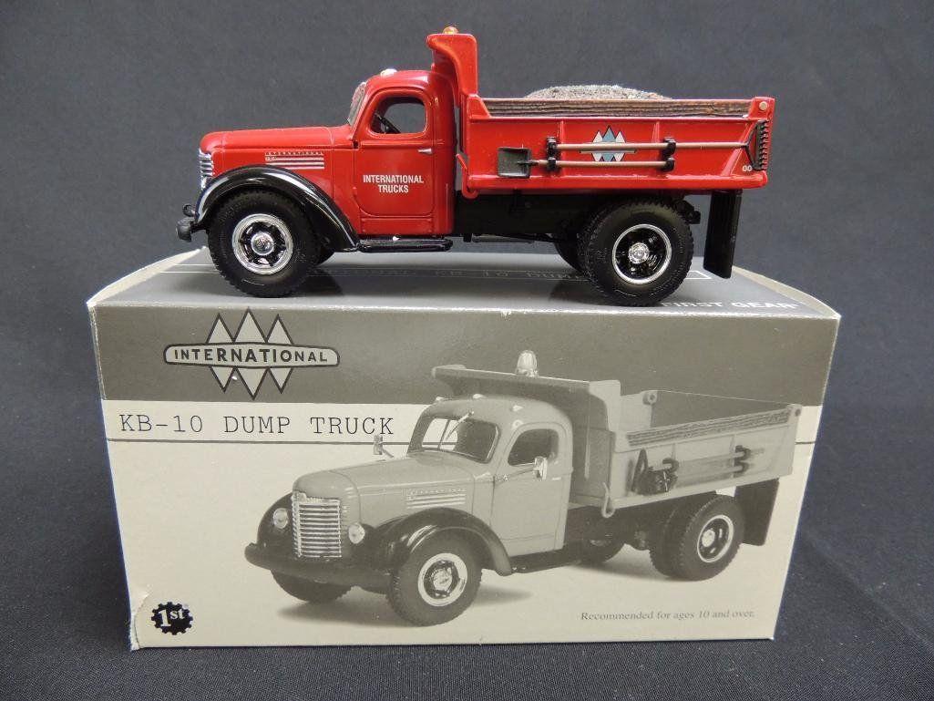 First Gear International KB-10 Dump Truck with Original