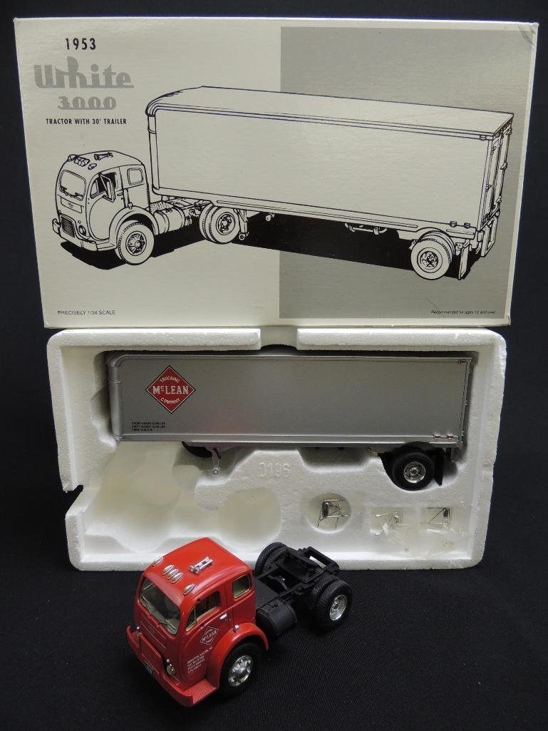First Gear McLean Trucking 1953 White 3000 Tractor with