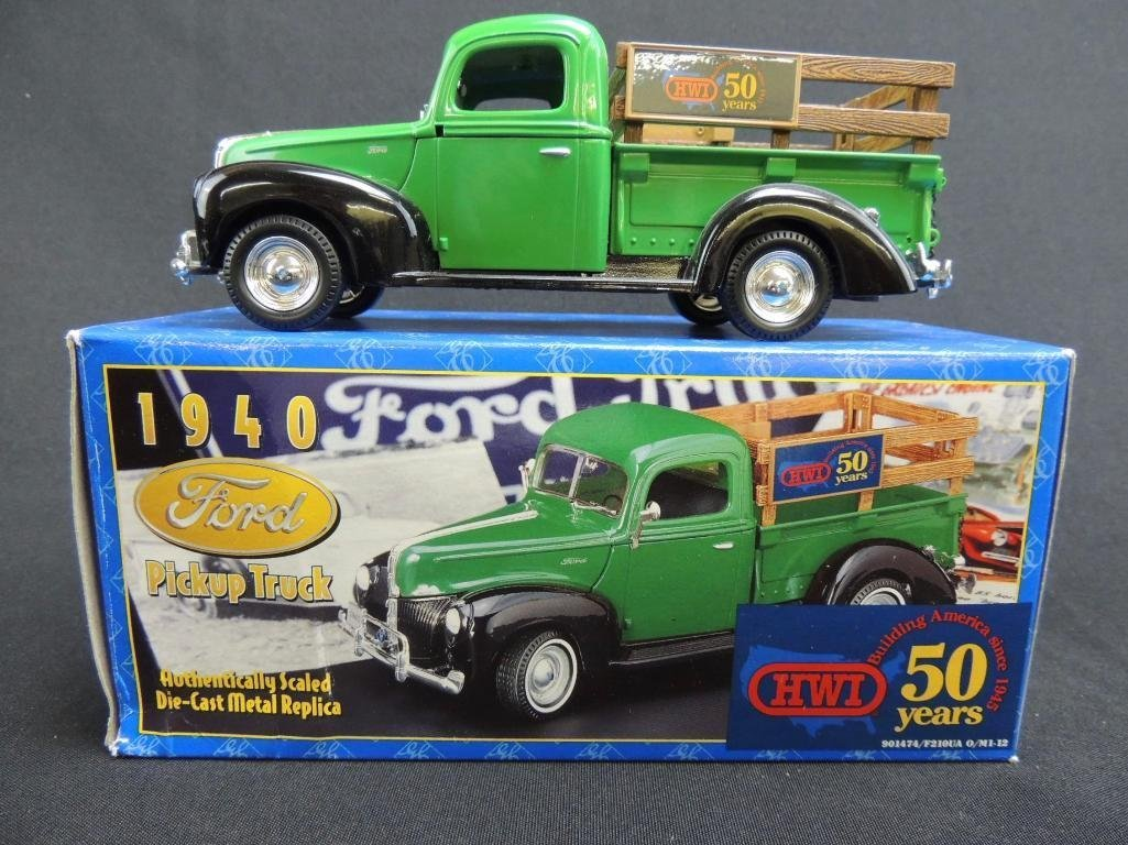 1940 Ford HWI 50 Years Die-Cast Pickup Truck with